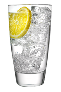 Seltzer with Lemon
