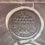 NOLA water meter manhole cover