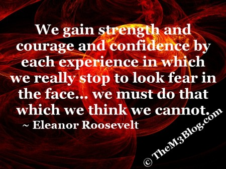 Eleanor Roosevelt quote meme