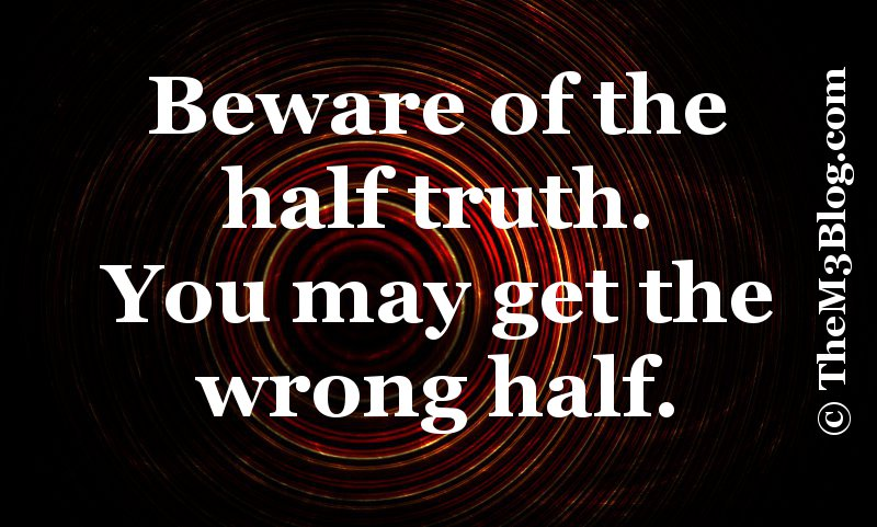 quotes about half truth lies