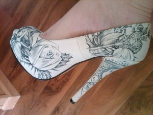 iron fist stiletto high heel shoes