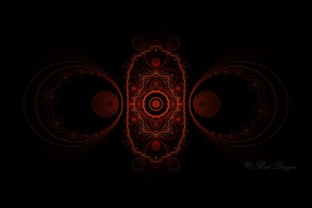 Fractal Art Red Dwyer