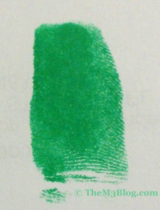 green fingerprint