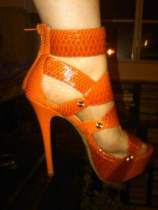 Orange Stiletto