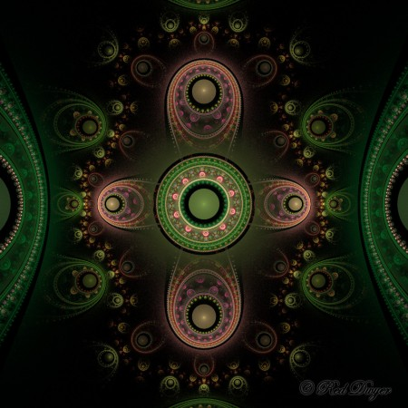 Red Dwyer Julian Fractal Art